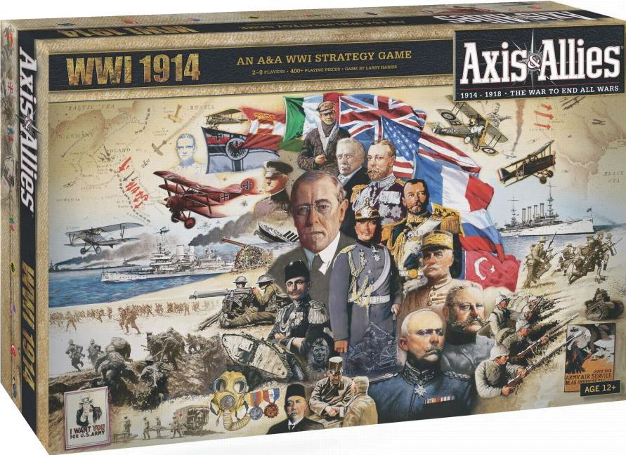 Axis & Allies spel